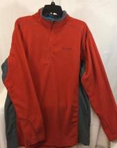 Columbia men's Klamath range half zip fleeze pull over jacket size LT - $27.79