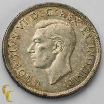 1938 S$1 Canada Dollar in XF, Silver Coin KM# 37 - $69.30