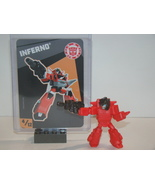 TRANSFORMERS - TINY TITANS - SERIES 4 - INFERNO #4 - $10.00