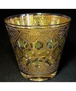 1 (One) VTG CULVER GLASS VALENCIA Old Fashion Glass with 24K Trim - $18.99