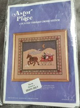 """ASTOR PLACE Over the River Counted Cross Stitch Pattern 10 3/8"""" x12"""" HS1... - $12.18"""
