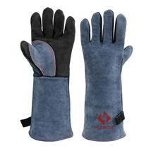 HITBOX MIG MMA TIG Welding Gloves 932℉ Heat Fire Resistant BBQ Oven Mitt... - $27.02