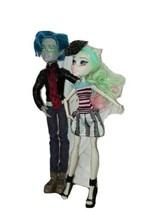 2 Monster High Love in Scaris Garrot Du Roque and Rochelle Goyle Dolls 1... - $74.25