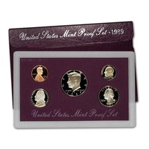 1989-S Proof Set United States US Mint Original Government Packaging Box - £7.64 GBP