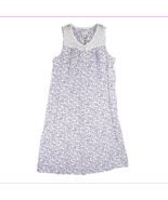 Charter Club Sleeveless Butterfly Vine Lace Trim Long Nightgown in XS - $26.40