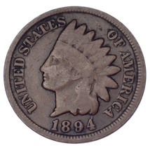 1894/1894 Indian Cent Doubled Date FS# 1C 011, Breen 2024, Good Condition - $49.50