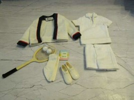 1962 Mattel BARBIE-KEN #790 Time For Tennis Outfit Excellent Plus !! - $49.45