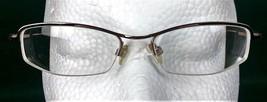 Via Spiga Torricello 580 Zyloware Glasses Half Frames Bronze Tone Spring... - $29.10