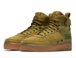 Nike SF AF1 Mid Men's size 10 Shoes Desert Moss Air Force 1 - $109.95