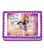 American Girl Isabelle 2014 Edible Cake Image Cake Topper - $8.98+