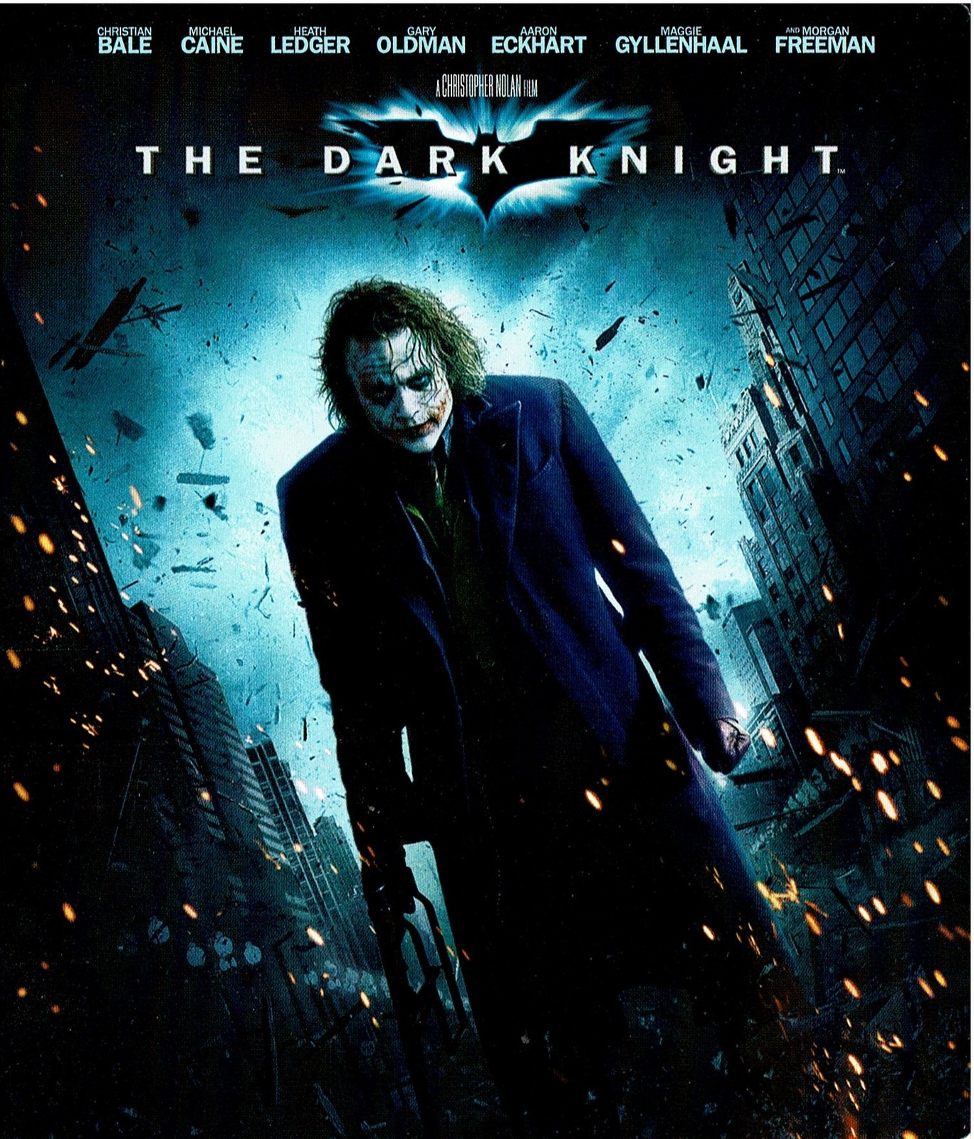 The Dark Knight  (2008) Blu-ray, 1080p, Special Edition (3 Disc in case)