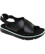 Camper BLACK Oruga Criss-cross Slingback Sandal, 8US, 38EU - $83.66