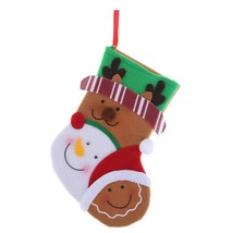 (04)10pcs Mini Santa Hat Red Wine Bottle Cover Christmas Cap for Bottles... - $14.00