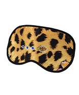 Elegant Silk Sleeping Eye Mask Sleep Mask Eye-shade Aid-sleeping,Leopard Grain,B - $15.51