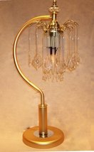 Brass Finish Decorative Touch Table Lamp NEW - $89.99