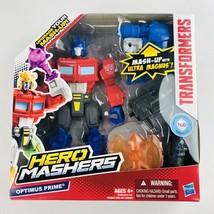 "Transformers Hero Mashers Optimus Prime Action Figure 6"" Hasbro NIB - $19.79"