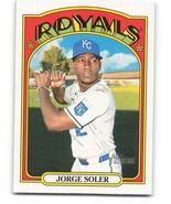 2021 Topps Heritage #165 Jorge Soler NM-MT - $0.99