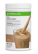 Herbalife Formula 1 Nutritional Shake Mix Cafe Latte Diet Supplement Ene... - $49.99