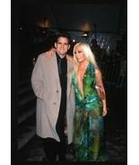 1999 MATT DILLON & DONATELLA VERSACE Candid Original 35mm Slide Transpar... - $12.69