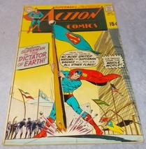 Vintage Action Comic Book October 1969 No 381 DC Superman as Dictator of... - $5.95