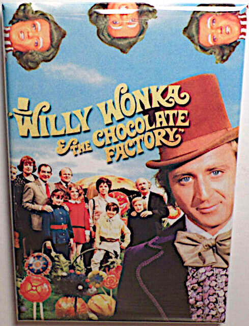 Willy wonka magnet  2x3