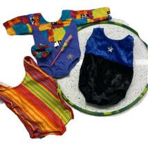 Pleasant Company American Girl Doll Rhythmic Gymnastics Leotard Lot Accessories - $43.29