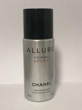 Allure Homme Sport Chanel Body Deodorant Spray France 3.5 Oz - $38.60