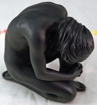 Studio Collection Nude Crouching Female Figurine Ebony Finish Veronese i... - $26.99