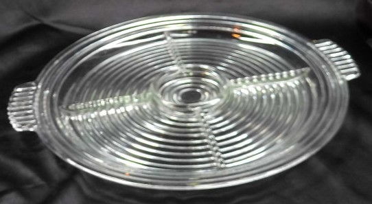 Primary image for Anchor Hocking 'Manhattan' 7 Piece Relish Tray Base