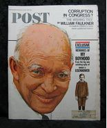 The Saturday Evening Post April 8, 1967 Eisenhower Cover - $3.99