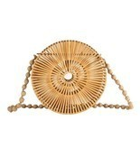 Women Handbag Hot Wicker Bag Hollow Out Bag Beach Straw Shoulder Bags Fo... - €43,75 EUR+