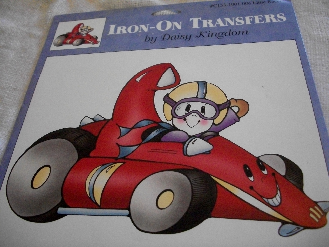 Primary image for  Iron On Transfer~Little Racer