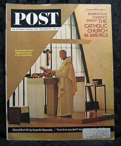 Saturday Evening Post November 28, 1964 The Catholic Church