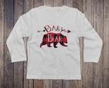 Baby bear buffalo plaid white longsleeve thumb155 crop
