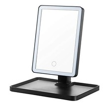 OMIRO Lighted Makeup Mirror with LED Lights,Touch Screen,Two power Suppl... - $44.54