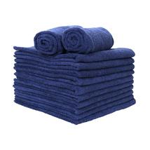 12 Pack of Microfiber Hand Towels- 16 x 27- Navy - $19.99