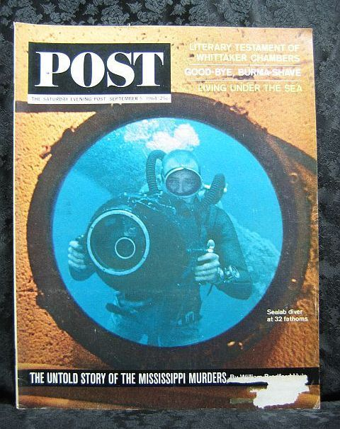 The Saturday Evening Post September 5, 1964  Sealab