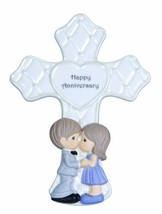 Precious Moments Anniversary Cross with Easel Stand Figurine, 123403 - $15.21