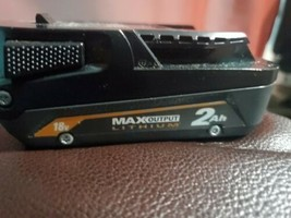 Ridgid R840020 18V 2AH  Lithium-Ion Single Battery Used - $34.64