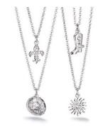 Avon Hometown Necklace Fleur De Lis - $9.99