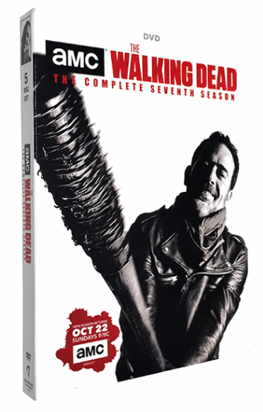The Walking Dead Complete Seventh Season 7 DVD Box Set 5 Dsic Free Shipping New
