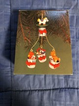 1987 New in Box - Enesco Christmas Ornament - Toy Thimbles - #556475 - $6.92