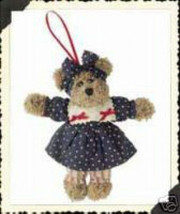 "Boyds Bears ""Josanna Java"" 5"" Plush Bear Orname... - $9.55"