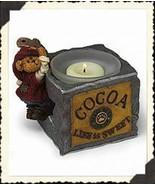 """BoydsBearstoneVotive""""Scoop Elfbeary..Heaping Spoonful""""#27736-1E-NIB-2003... - $23.99"""