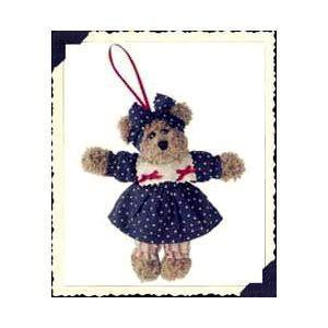 "Boyds Bears ""Josanna Java"" 5"" Plush Bear Ornament* #56272* 2005* NWT*Retired"