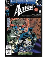 Action Comics Comic Book #654 DC Comics 1990 VERY FINE - $2.25