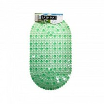Bright Green Anti Slip Bath Mat with Suction Cups - $14.99