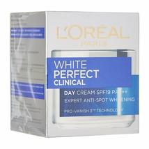 L'Oreal Paris White Perfect Clinical Day cream, SPF 19 PA+++ 50 ml - fre... - $30.68