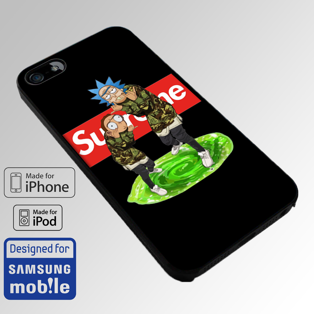 Iphone 8 Rick And Morty Case Supreme