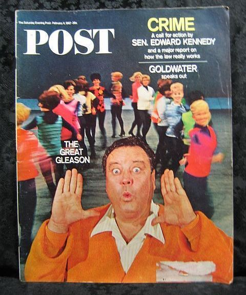 Saturday Evening Post February 11, 1967 Jackie Gleason